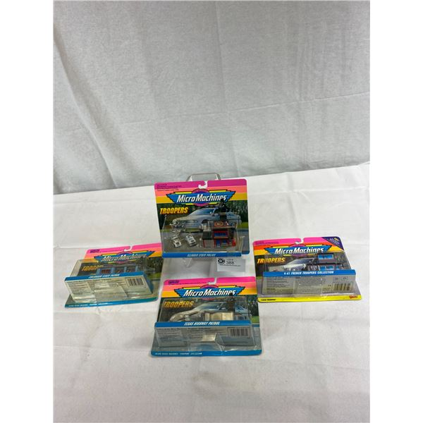 Lot Of 4 Micro Machines, Troopers, Still In Original Package