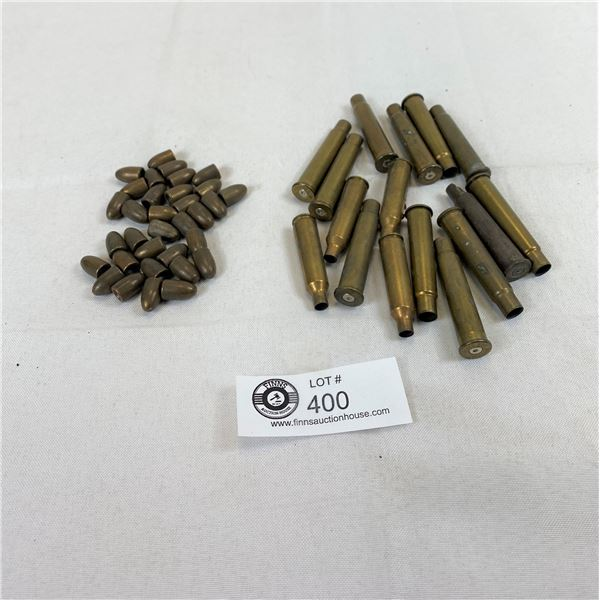Lot Of Used Shells And Tips, Ammo