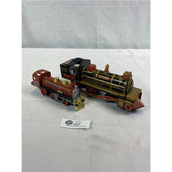 2 Toy Locomotives