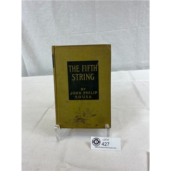 1907 Hardcover Book, The 5th String