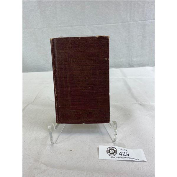 1923 Hardcover Book Robinson Cursoe