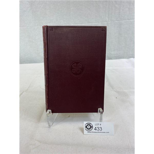 1899-1901 Hardcover Book By Joseph Balsamo An Historical Romance