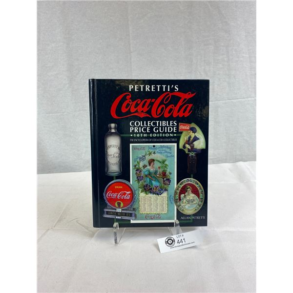 Large Coca-Cola Collectibles Price Guide Book, Hardcover