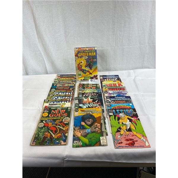 Nice Lot Of 25 Assorted Comics
