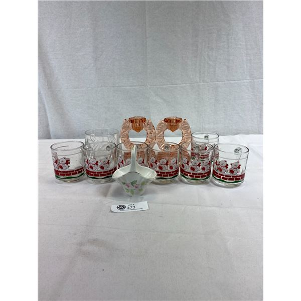 Nice Home Décor Lot Of Glass