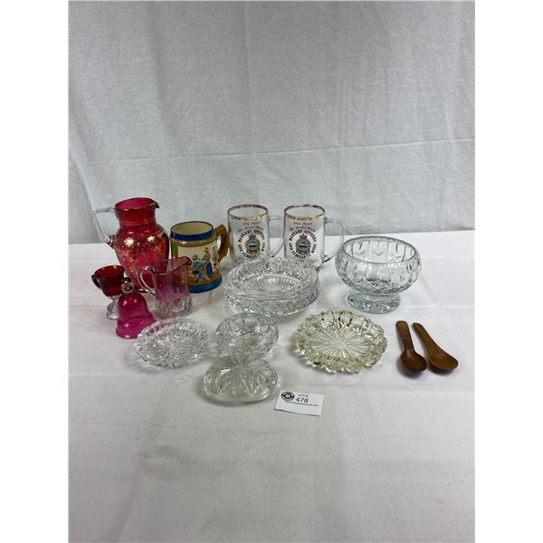 Nice Large Lot Of Collectible Glass And Dishes