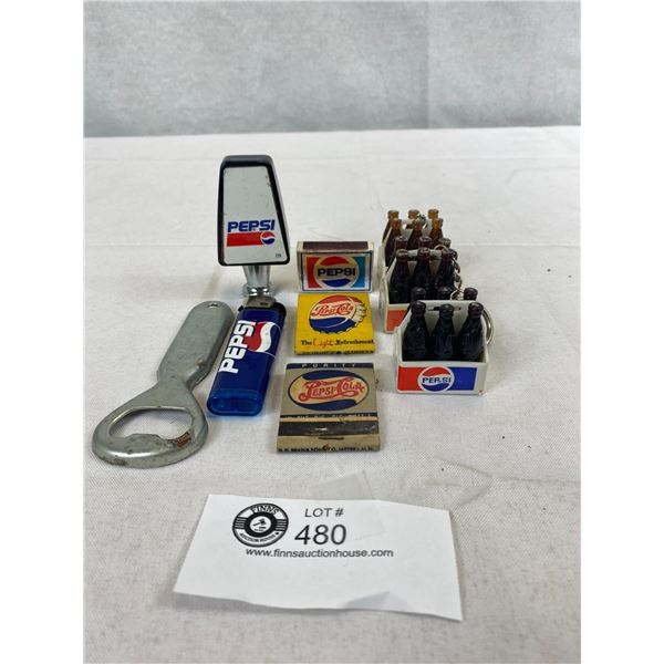 Nice Collectible Lot Of Pepsi Cola, Bottle Openers, Lighter, Etc.