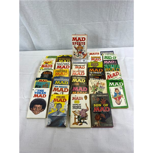 Nice Large Lot Of Mad Books