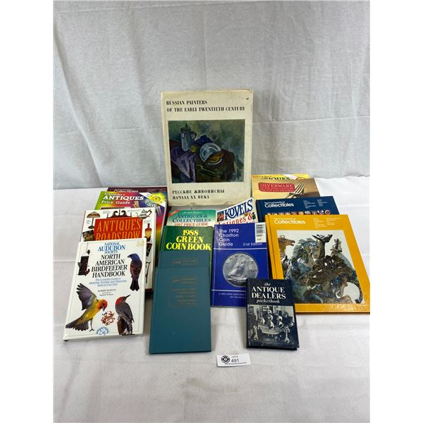 Large Lot Of Books On Collectibles
