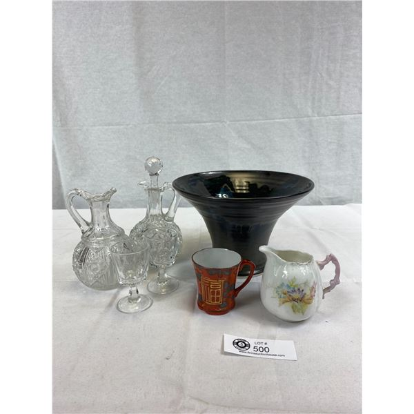 Nice Home Décor Lot Of Vase And Other Dishes