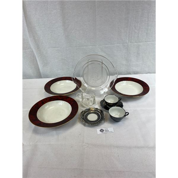 Lot Of Decorative Dishes