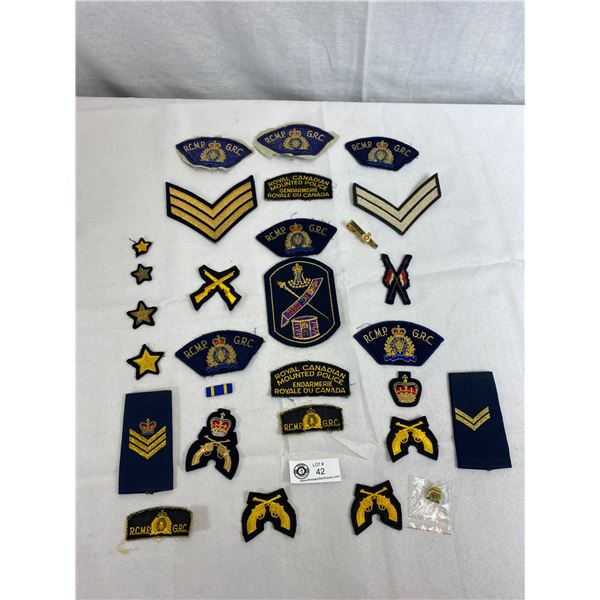 Nice Lot Of Military Patches And Police Patches