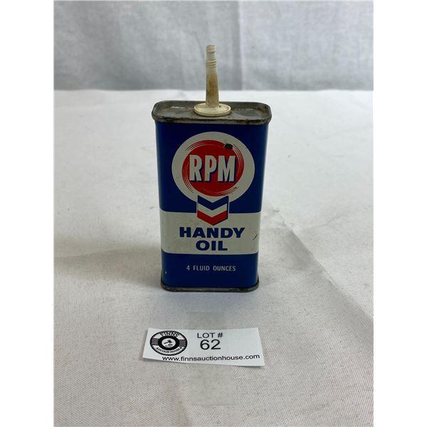 RPM Handy Oil 4oz Tin, Empty