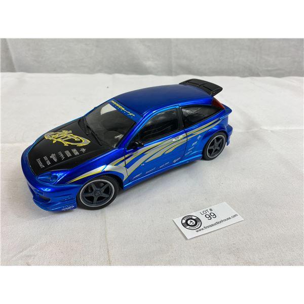 2000 Mattel Ford Focus Diecast Car