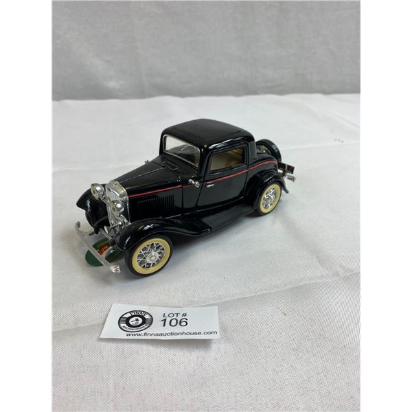 1:24 Scale 1932 Ford 3 Window Coupe Diecast Car