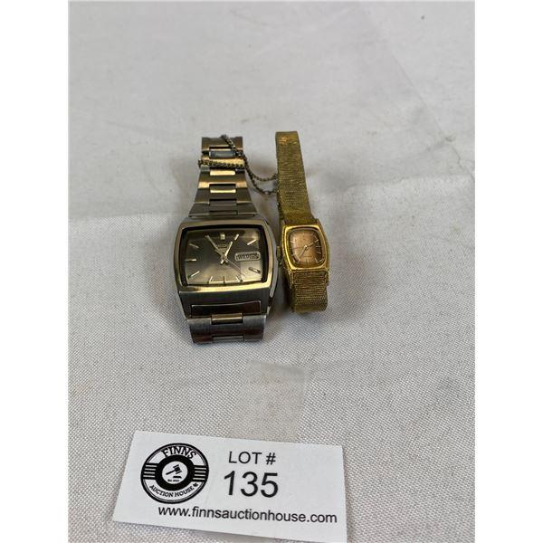 Vintage Seiko Watches - Needs Batteries