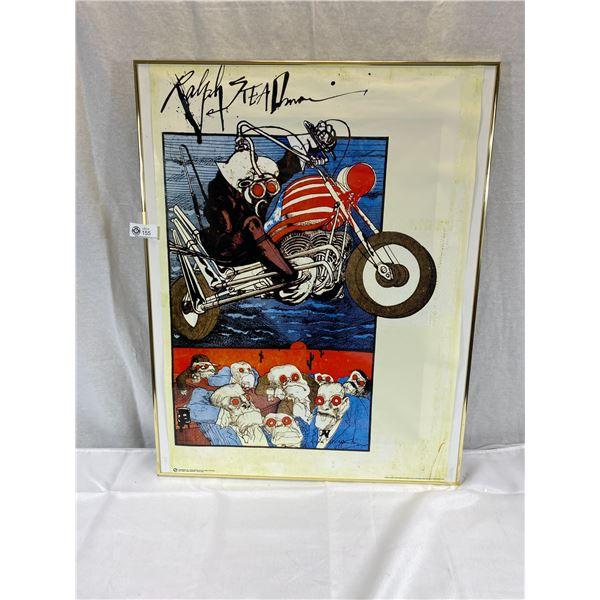 Original Ralph Steadman 'Gonzo Cover' Poster - 24'' x 32''