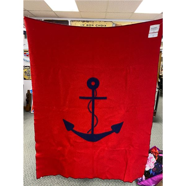Vintage Naval Military Blanket - By Appointment to His Majesty the King of Sweden