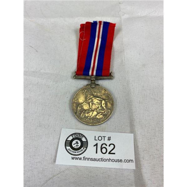 A Canadian WW2 Silver 1939/45 War Medal