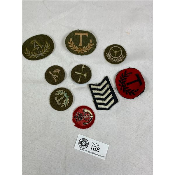 A Lot of Canadian 1940's Battle Dress Insignia