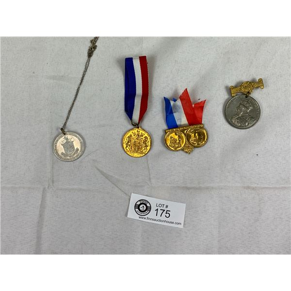 A Lot of Coronation Medals