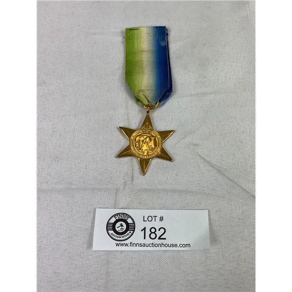 WW2 Atlantic Star Medal w/ Ribbon
