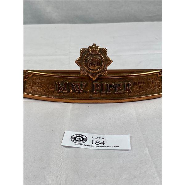 A Nice Desk Badge Royal Canadian Regiment