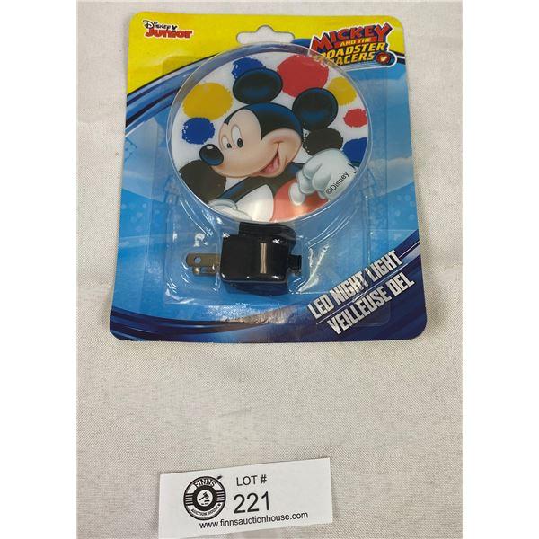 New Disney Mickey Mouse Night Light