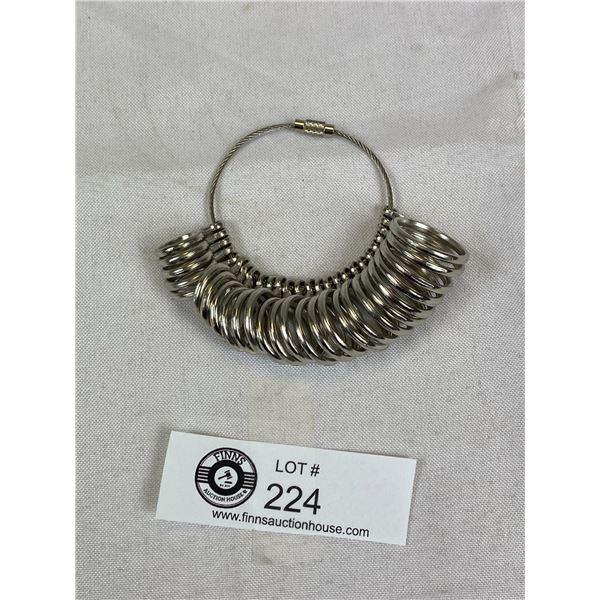 New Metal Ring Sizer