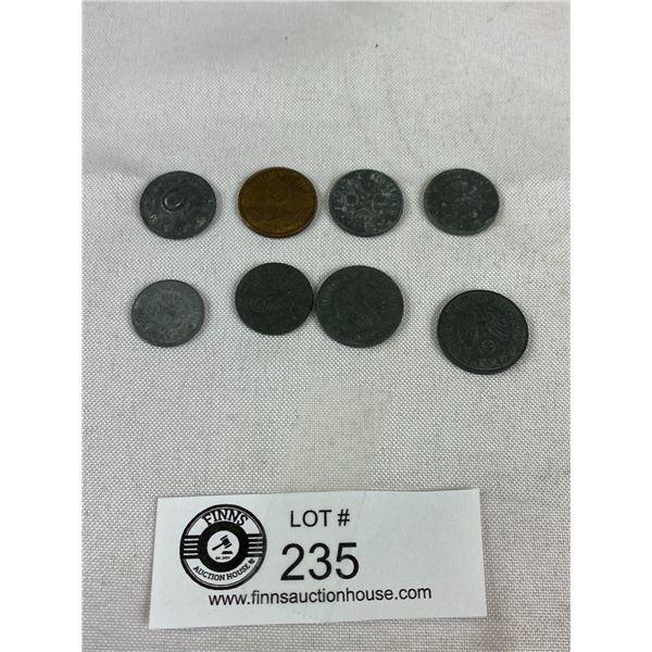WWII German Nazi Coins