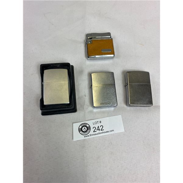 Lighter Lot 3 are Zippos 1 Miscellaneous