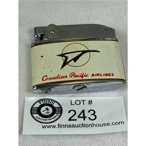 Vintage Canadian Pacific Airlines Lighter