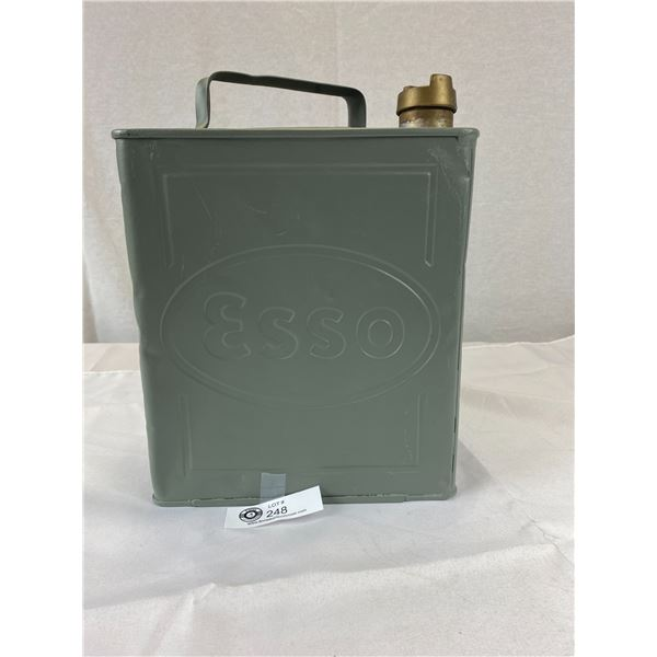 Vintage 1938 Esso Gass Oil Can