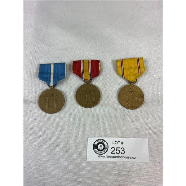 WWII & Korean War US American Medals