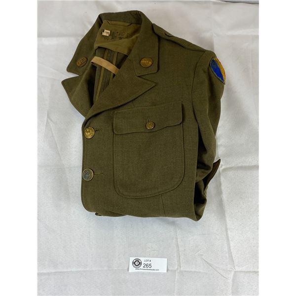 WWII US Army Sergents Uniform Jacket 1941
