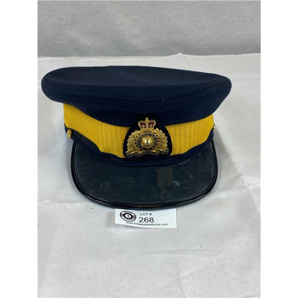 RCMP Royal Canadian Mounted Police Cap and Cap Badge
