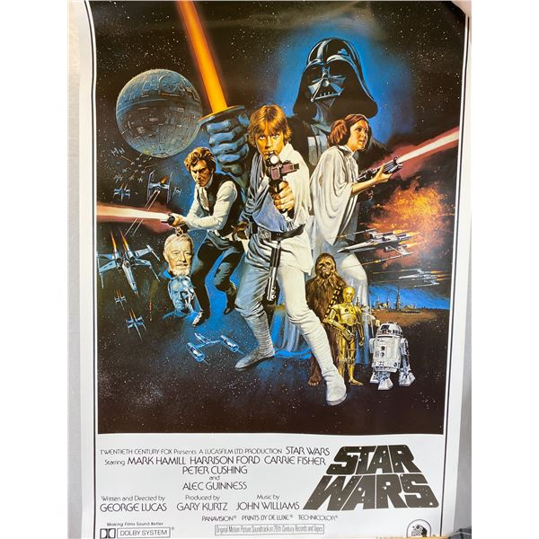 Star Wars Posters- A New Hope_ The Empire Strikes Back & Return of the Jedi