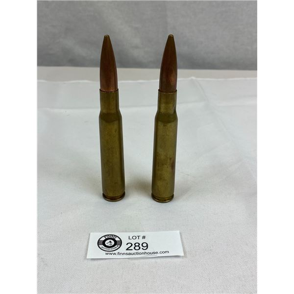 "2 .50 Cal Paperweights 5.5"" Tall"