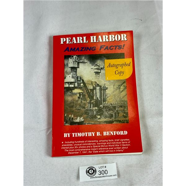Pearl Harbor Book Signed by the Author