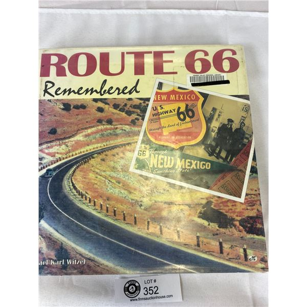 2 Nice Hardcover Books on Route 66