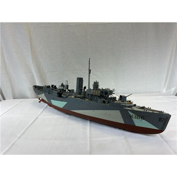 "2 Large Battleship Models With Motors (No Controllers - as found) 53"" [LOCAL PICKUP]"