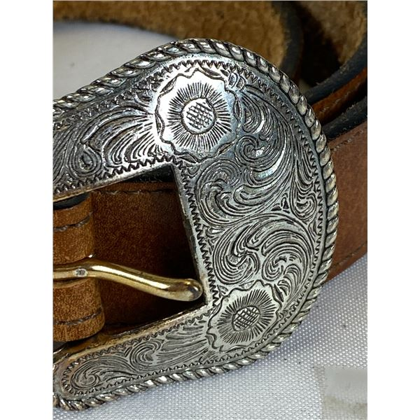 Nice Vintage Belt Buckle Western New Mexico Style