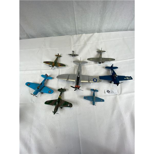 Nice Lot of Airplane Models