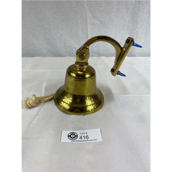 Vintage Brass bell post war canadian navy bell from ex canadian navy man