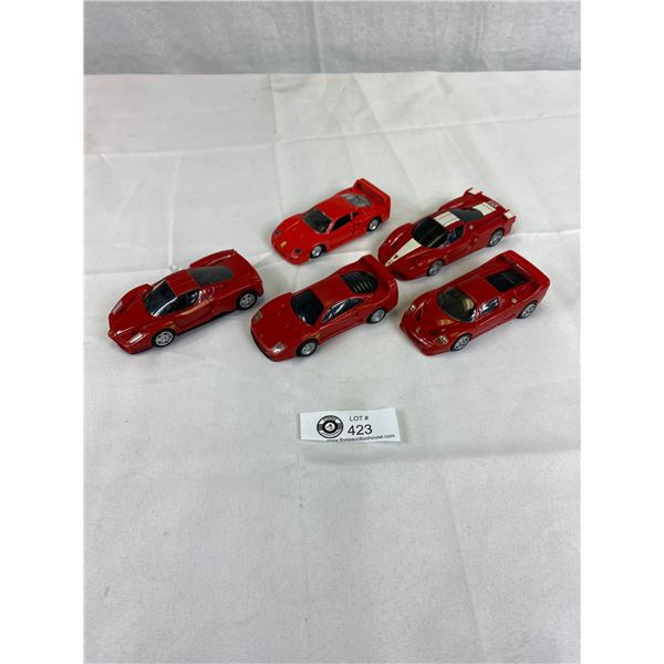 Nice Lot of Ferrari Die cast cars 1:39 scale