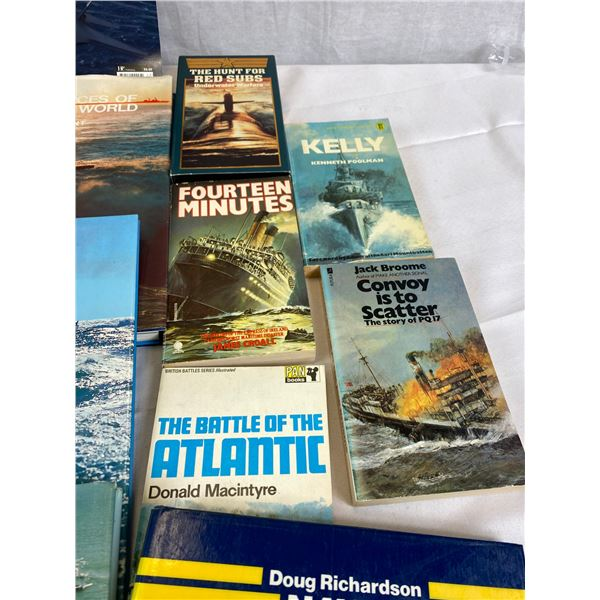 Nice Lot of 4 Harcover Books on Military
