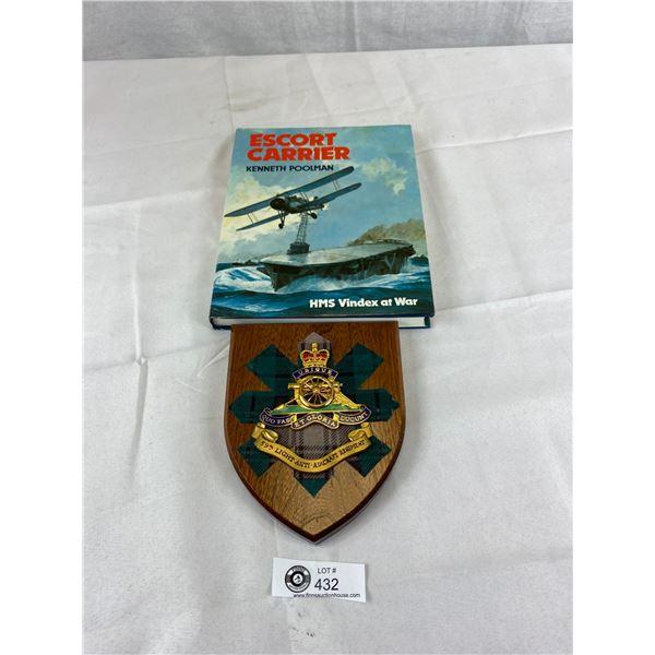 59th light anti aircraft regiment plague plus an escort carrier hardcover book