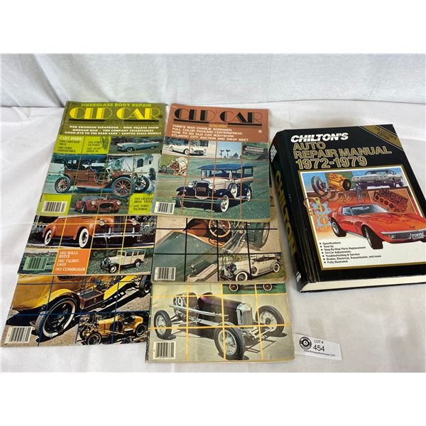 Nice Lot of car manuals and magaines