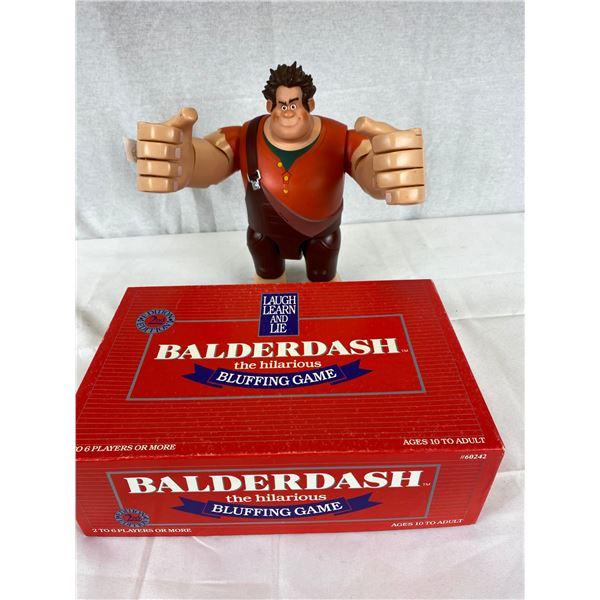 Wreck it ralph Talking Figurine plus Boulder dash game