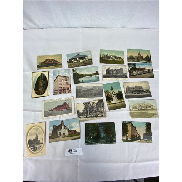 Lot of 20 Early 1920's postcards